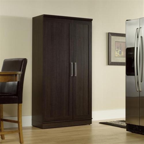 Kitchen Cabinet Space Savers: Large Kitchen Cabinet Storage Food Pantry Wooden Shelf