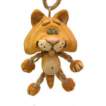 Orange Kitty Dangly Ornament - $13.95