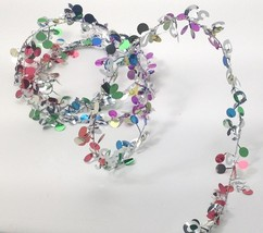 9 ft. Multi color Metallic #30 Birthday Anniversary Wire Garland - $1.97+