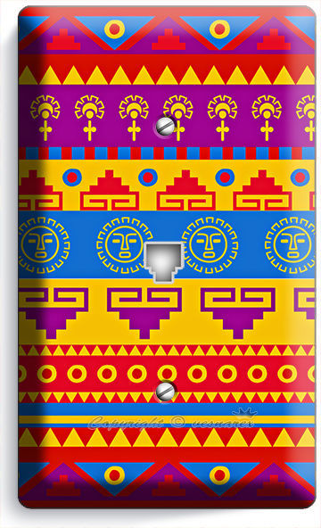 Latin american southwest aztec inca phone telephone wall for South american decor