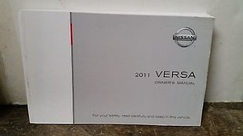 2011 Nissan Versa Owners Manual by Nissan - $24.74