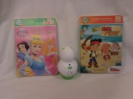 LeapFrog TAG Junior Reading System case Lot 2 Disney Princess and Jake Pirates - $21.62