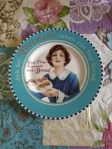 Vintage Villeroy & Boch 1748 Germany Porcelain Checkered Portman's Plate... - $34.99