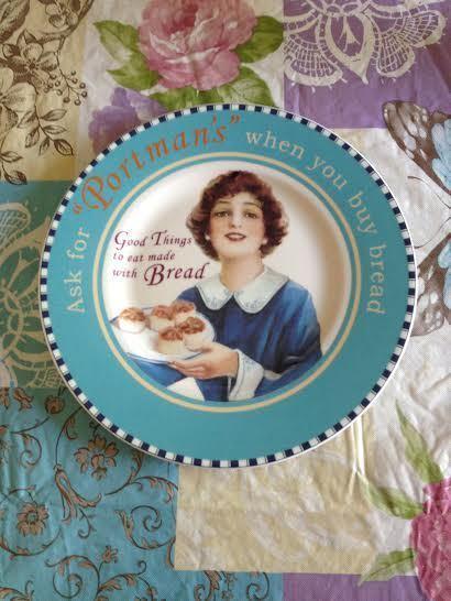 Vintage Villeroy & Boch 1748 Germany Porcelain Checkered Portman's Plate New
