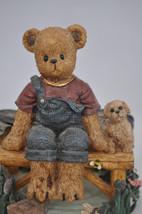 Beary Hill Bears - Boy With Bike - Classic Figurine image 2
