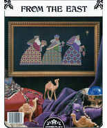 From the East Three Wise Men Counted Cross Stitch Pattern - $5.00