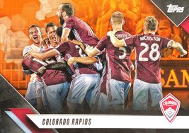 Colorado Rapids 2019 Topps MLS Card - Orange Parallel Numbered 3/25 - $9.99