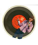 Record 33 RPM Bobby Sherman Cardboard Cereal Box Premium 1970s Paper Record - $19.99