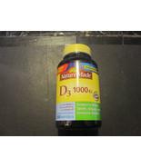 Vitamin D3 1000 IU 650 Softgels Nature Made - $22.70