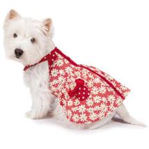 Dog Dress Sassy Sunflower Dog Dress Sundress Pet XXS-M Red Dresses Summer - $13.99