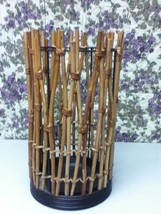 Large, Wicker Candle, Umbrella or Flower Stand - $23.70