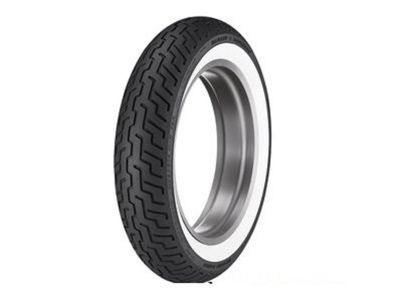 New Dunlop D402 MT90HB16 Front Wide White Wall WWW Tire  MT90-16 Tubeless