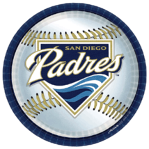"San Diego Padres 11""X11"" Full color vinyl decal... - $9.99"