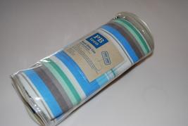 Pottery Barn PB Teen 2 Del Mar Beach Stripe Pillow Cases Blue Green Standard Set - $19.95