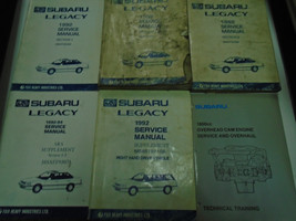1992 Subaru Legacy Service Repair Shop Manual SET FACTORY OEM Books Inco... - $98.95