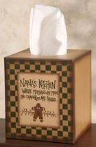 Primitive Tissue Box Paper Mache' 8TB2504 - Nana's Kitchen  - $7.95