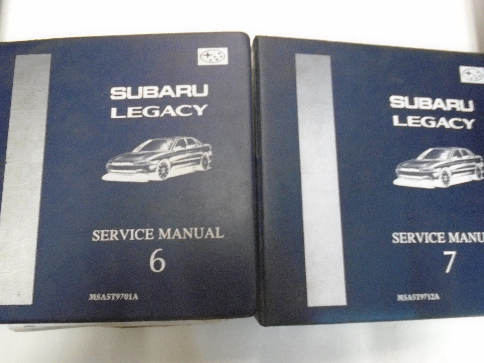 1997 Subaru Legacy Service Manual Repair Shop Set Factory OEM BOOKS Used ***