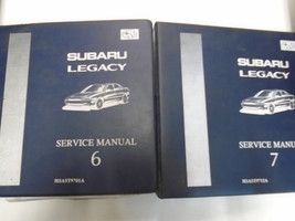 1997 Subaru Legacy Service Manual Repair Shop Set Factory OEM BOOKS Used... - $67.27