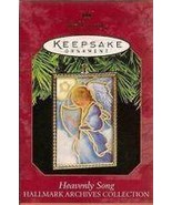 Heavenly Song Hallmark Archives Collection Acrylic 1997 Ornament - $12.95