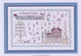 A Dream House cross stitch chart The Pink Needle - $9.00