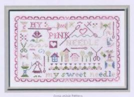 My Pink Needle cross stitch chart The Pink Needle - $9.00