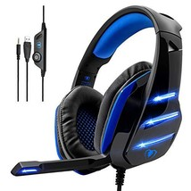Gaming Headset,MMUSC Stereo Headphones for Laptop,Tablet,PS4, PC, Xbox (black) - $38.02