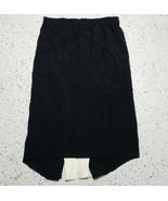 Peck & Peck Women's Long Skirt ~ Sz M ~ Black ~ Elastic Waist - $24.74
