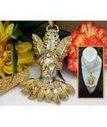 Vintage Lucien Piccard Pendant Maharajah Sultan Indian Turban Figural - £173.63 GBP