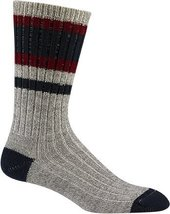 Wigwam Lakewood Socks - navy/burgundy, large - $222,67 MXN