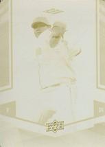 2008 ud felix hernandez seattle mariners printing plate 1/1 rare basebal... - $299.99