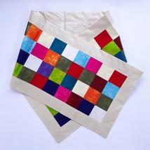 Natural Silkworm, Bombyx Mori, Tablecloth, Square Partten 400x2000 mm, BM04 - €14,82 EUR