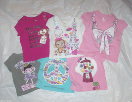 Toddler Girls The Childrens Place Tshirts 6 to Choose From Many Sizes NWT - $5.59