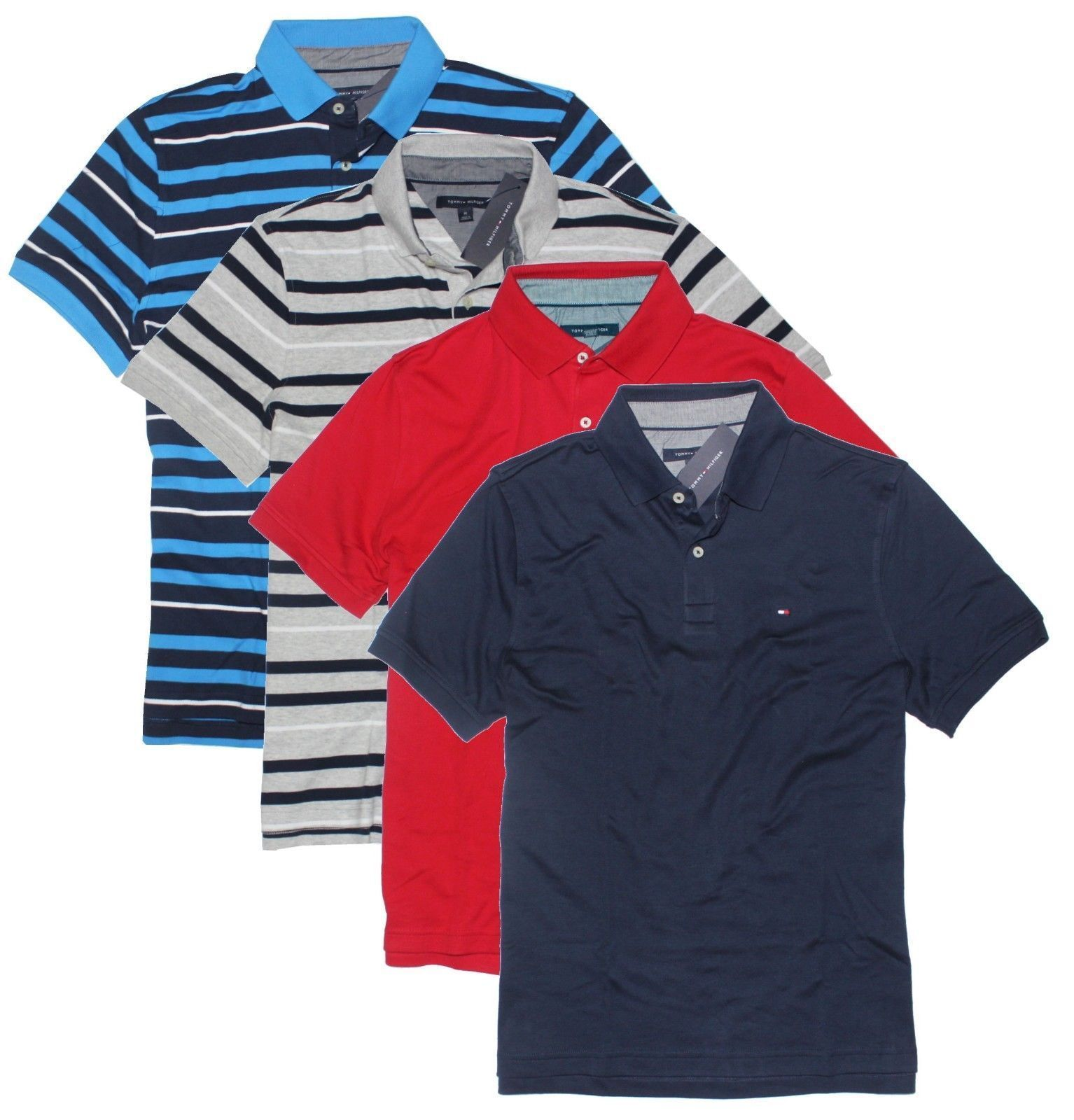 Tommy Hilfiger Men's Classic Short Sleeve Polo Shirt