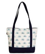 Vietsbay Women Lotus Yoga Symbol Printed Heavyweight Canvas Bags WAS_09 - £21.40 GBP