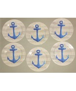 """Melamine ANCHOR Plates YOU CHOOSE NEW 8"""" OR 10"""" sets Beach House NEW - $27.76+"""