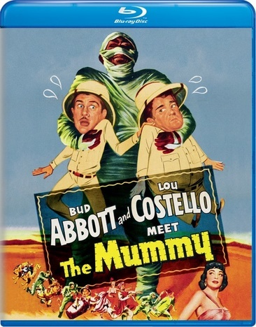 Abbott & Costello Meet The Mummy (Blu Ray)