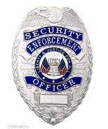 Security Enforcement Officer Badge Deluxe Metal... - $13.97