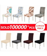 Spandex Chair Cover Stretch Elastic Dining Seat Cover for Banquet Weddin... - $15.34