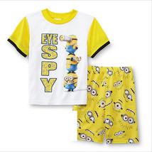 Children Boys Girls Kids Despicable Me Short Sleeve Pajamas Sleepwear 2T... - $18.99
