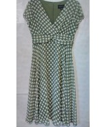 CONNECTED APPAREL WOMENS POLKA DOT DRESS - SIZE 14 - $23.99