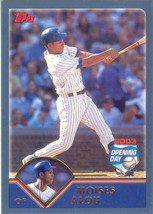 Moises Alou ~ 2003 Topps Opening Day #7 ~ Cubs - $0.20