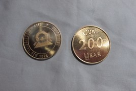 1972 Dorchester NH & 1968 Ogdensburg NY Cent. Medals, Free Ship - $11.29