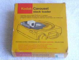 Vintage Kodak Carousel Stack Loader Tray w/ Box Sleeve Paperwork MIB - $17.75