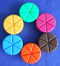 Trivial Pursuit 20th Anniversary Replacement Game Part Piece Token Mover... - $9.89