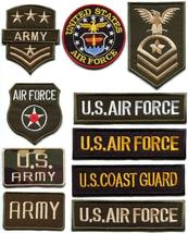 Army navy military insignia rank war applique iron-on patch new your choice M-3 - $2.76+