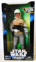 Star Wars 12 Inch Luke Skywalker Hoth Action Figure with Firing Blaster ... - $19.80