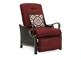 Hanover Outdoor Ventura Outdoor Luxury Recliner, Crimson Red - $550.92