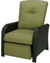 Hanover Strathmere Outdoor Luxury Recliner, Rich Brown/Cilantro Green - $434.48
