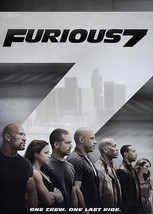Furious 7 (DVD, 2015)--DVD Only***PLEASE READ FULL LISTING*** - $15.00