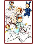 "Vintage Pattern 8""-9"" Dolls * Ginette, Dydee, Tiny Tears - $7.99"